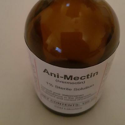 1% ivermectin  Anti mectin 100ml bottle