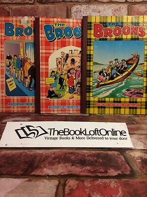 The Broons annual 1981,1983,1985 - Vintage , Collectable, Scottish, D.C.Thomson