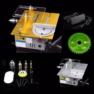 Mini T5 Polishing Cutting Machine DIY Table Saw Blade Drill Woodworking Kits FS