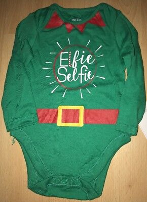 Baby boys green Christmas vest for 9-12 months from F&F - BNWT