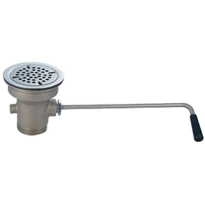 Commercial Compartment Sink Lever Waste Drain Twist Handle