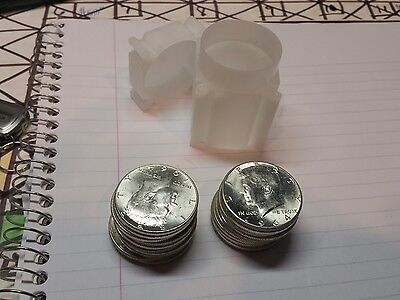 $20 1964 Kennedy Halves - 2 - COMPLETE 90% Silver 20-Coin Rolls(40 COINS!!!)