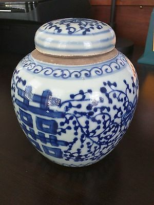 Fine Chinese Blue And White Porcelain Pot