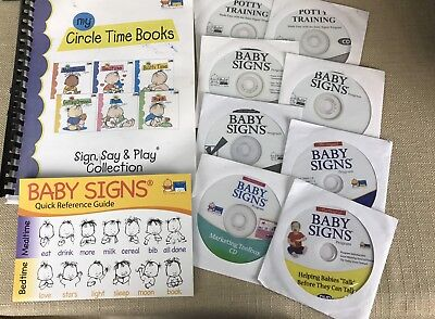 Paper Book&dvd Baby Signs My Circle Time Books Infant Toddler Sign Say Play Lot