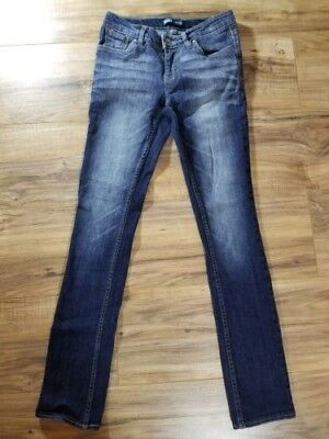 Girls Levi's Skinny Size 14 Slim adjustable Dark wash Great condition