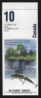 Canada — Booklet Pane of 10 in Cover — Heritage Rivers #1412b (BK145) — MNH