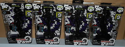 (NIB) 4 x BEGOTHS Series 5 Comic Con Excl Black First Shots Figures...Can Post