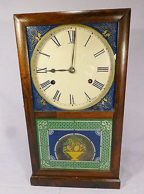 Antique Smith & Goodrich Fusee Clock-2 Outstanding Glasses- BEST OFFER