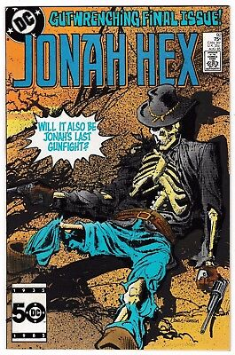 JONAH HEX #92 (NM-) Last Issue! Rare! Classic DC Western Character! 1985 DC