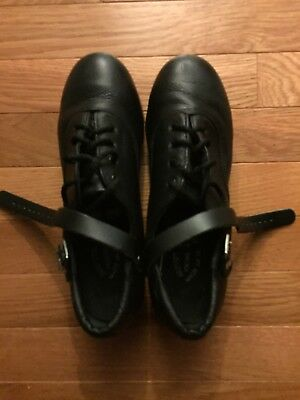 RUTHERFORD Irish dance hard shoes or jig shoes Excellent condition SIZE 6W