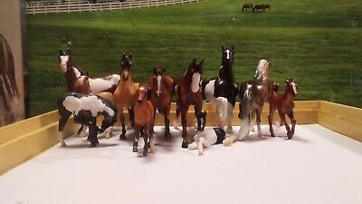 Breyer Stablemate Lot 3: Mystery Foal Surprise Mixed Lot of 11 Family