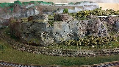 N Scale Layout Trainset 2600 x 1350 Partially Kato Track Points Model Railway VG