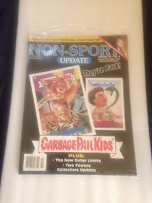 Non-Sport Update Vol.14 No.4 Single Issue Magazine. Garbage Pail Kids Cover. New