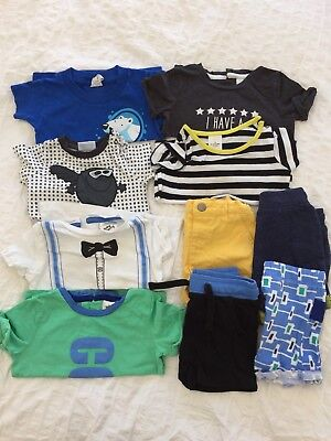Size 00 Summer Baby Boy Clothes