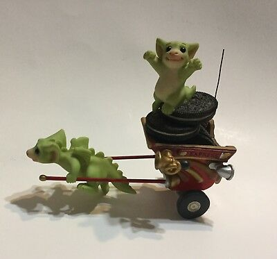 Whimsical World Of Pocket Dragons Go! Go! Getaway Cart Real Musgrave