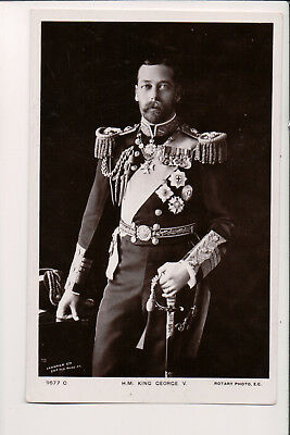 Vintage Postcard King George V of Great Britain
