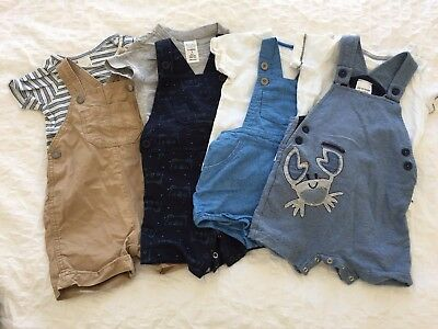 Size 0 Summer Baby Boy Clothes