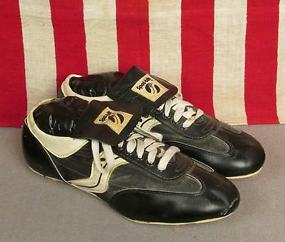 5078942ee Vintage Spot Bilt Baseball Athletic Shoes Low Top Cleats Size 10 Softball  Nice!