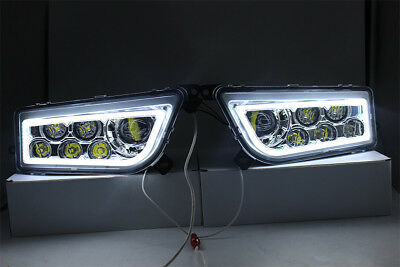 2015-2017 Polaris Rzr 900 S- White Led Halo Headlights Conversion - Rzr Xp 1000