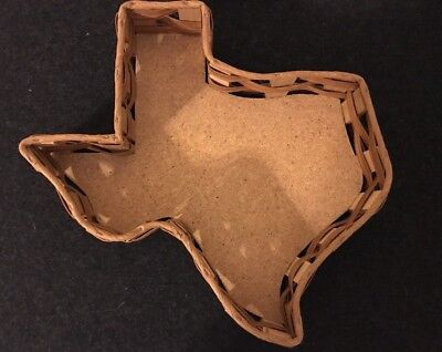 State of Texas Shaped Basket