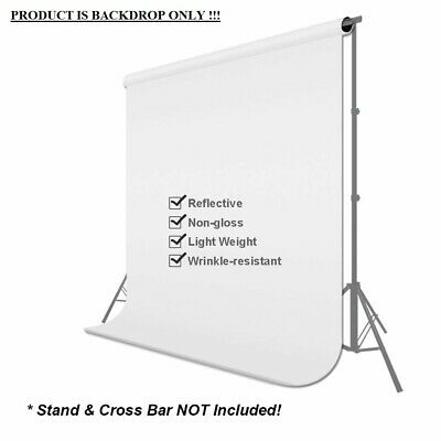 Photography Background Support Stand Photo Backdrop Crossbar Kit Adjust 6X9 Ft