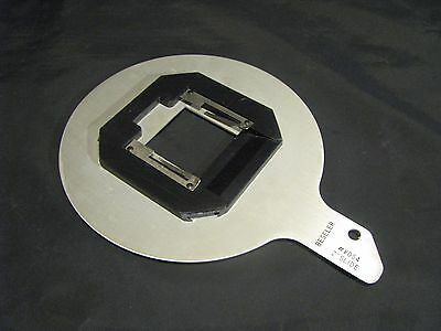 "Beseler 2"" Slide 2X2 Negative Carrier #8054 For 23C 23C-Ii Darkroom Enlarger"