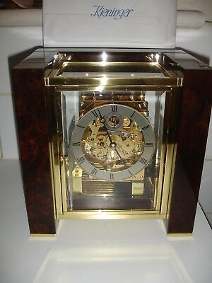 Kieninger Musical Mantle- Bracket Clock Has New Cost In Excess Of £4000