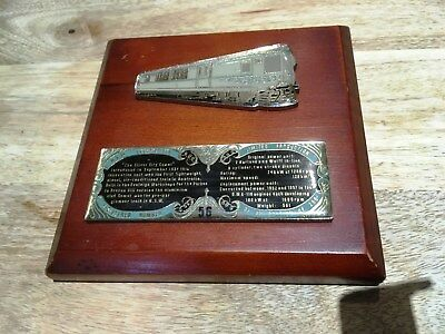 NSW Rail-'The Silver City Comet' Locomotives-Limited Edition Plaque-56 of 250-