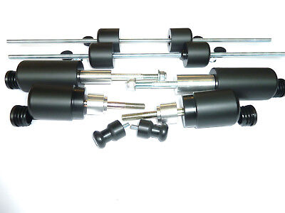Triumph Street Triple 675R 13-17 Crash Mushrooms Slider Bungs Bobbins Set 10 S8V