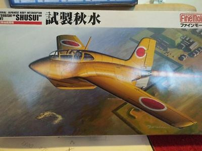 1/48 scale fine molds shusui rocket interceptor model