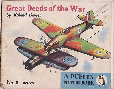 Great Deeds Of The War Puffin Picture Book No 8