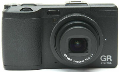 Ricoh GR 4 IV 10.4MP Point & Shoot Digital Camera *Black *superb