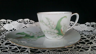 Vintage Westminster Australia TENNIS SET Lily White cup and plate vintage cup