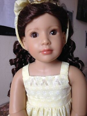 Kidz N Cats Beautiful Laura  18 Inch All Vinyl Doll