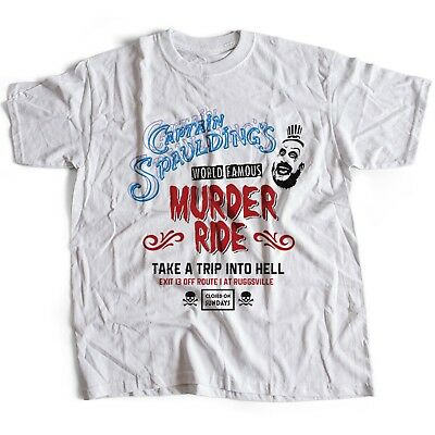 9341w Captain Spaulding T-Shirt House Of A 1000 Corpses The Devil's Rejects