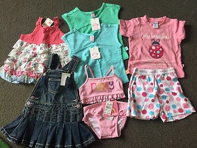 Baby girl Clothes Size 1 bundle - All New