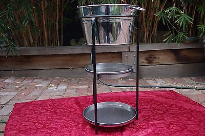 3 Tier Wine Cooler Stand /  Ice Bucket