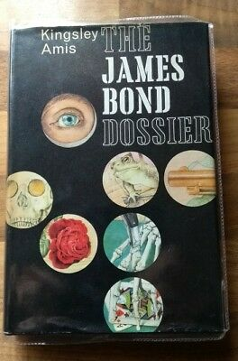 First Edition of The James Bond Dossier By Kingsley Amis 1965 (signed)
