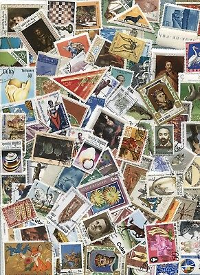 1000 Different All World Stamp Mix - mint & used - large pictorial  *Free Post*