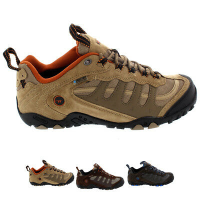 Mens Hi-Tec Penrith Low Hiking Outdoors Walking Waterproof Trainers All Sizes