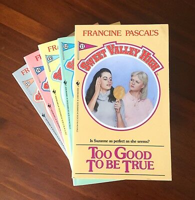 x5 Sweet Valley High books #11-15 by Francine Pascal