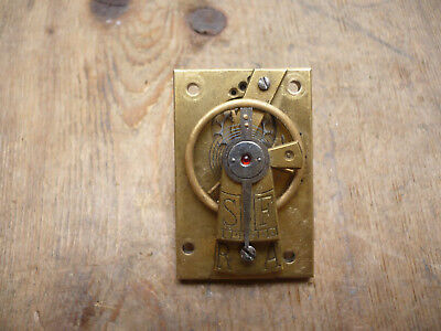 Antique/vintage Cylinder Platform Escapement In Good Working Order