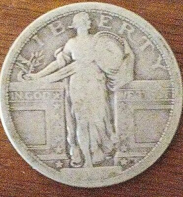 1917 US Standing Liberty Quarter Type 1