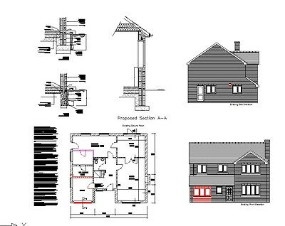 **sale** Garage Conversion Cad Plans - 2019 Planning & Building Regulations