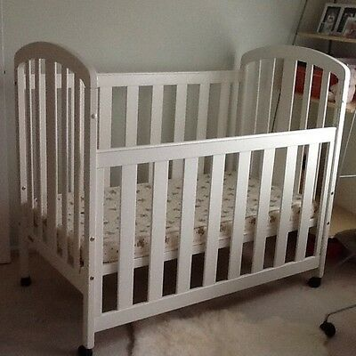 Baby Cot With Mattress On Wheels