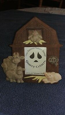 quarry critters barn yard friends photo frame