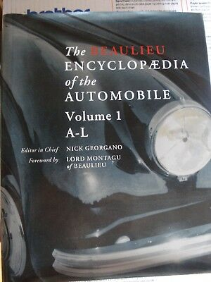 The Beaulieu Encyclopedia of Automobiles, both volumes by Nick Georgano