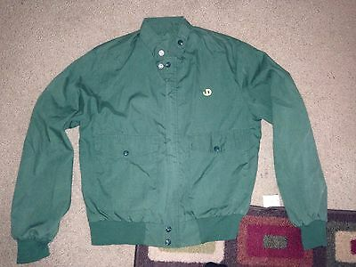 Vintage John Deere Bomber Jacket Size Small? Tractor Engine Hit Miss