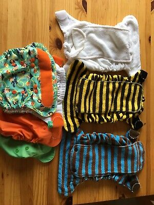 Tots Bots Bamboozle and peenut wraps Size 2 PRELOVED