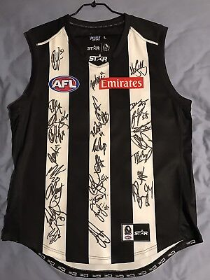 """AUTHENTIC 2016"" Signed Collingwood Jersey Size Men's Large"